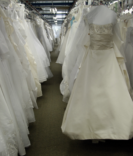 Learn more about wedding dress storage and cleaning for Wedding dress preservation company